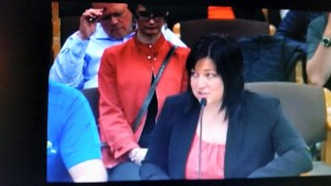 Me opposing increasing Oregon's Minimum wage last night in front of the committee